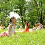 2018年9月23日(日)関西最大級の外ヨガイベント「ロハスヨガ」開催します♪(大阪/難波宮公園)