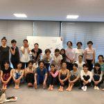 9/7開催 yama先生「チェアヨガ1DAY講座」レポートです